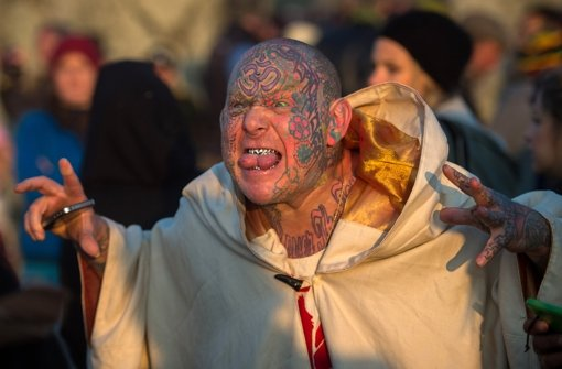 Druiden, Hippies und Yogis am Stonehenge