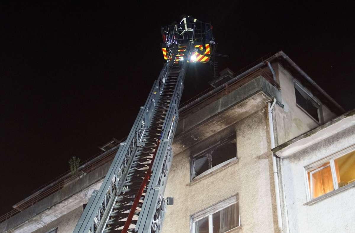 In Pforzheim hat eine Glühbirne einen Wohnungsbrand verursacht. Foto: SDMG/SDMG / Gress