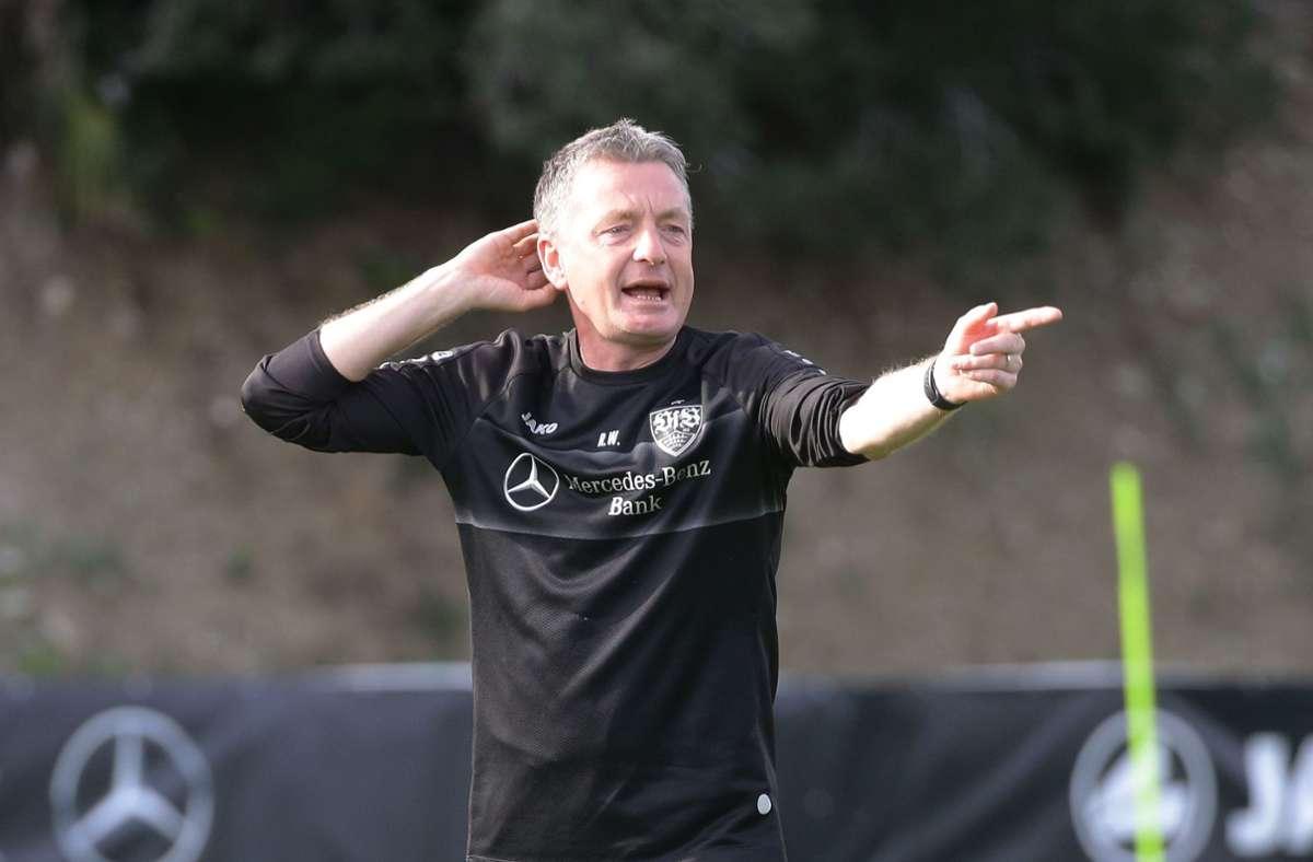 Rainer Widmayer war zuletzt als Co-Trainer beim VfB Stuttgart tätig. Foto: Pressefoto Baumann/Hansjürgen Britsch