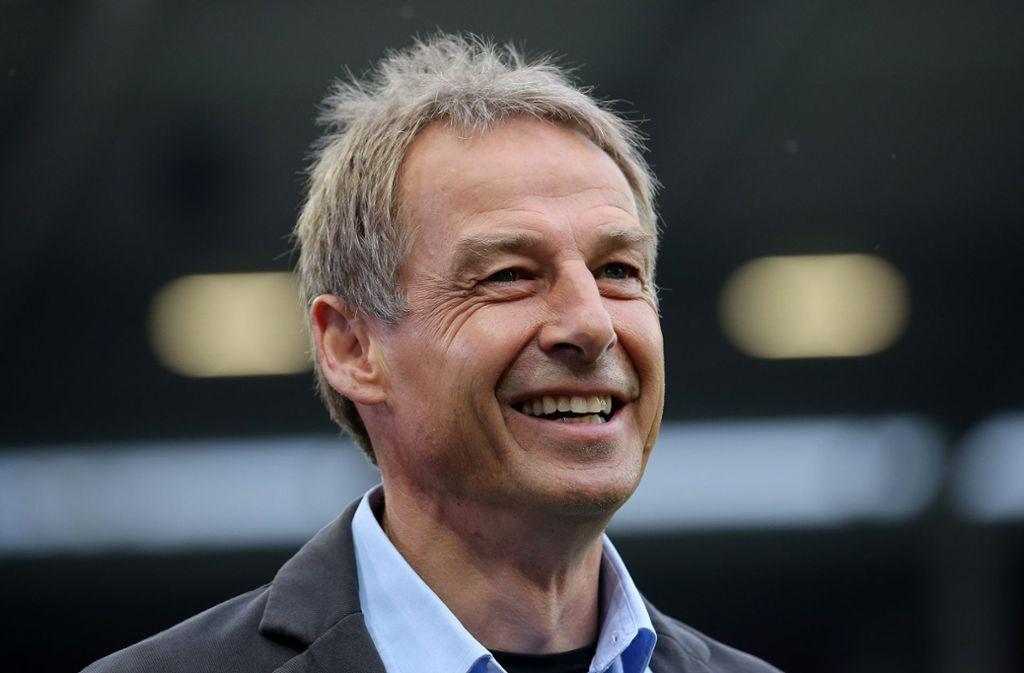 Jürgen Klinsmann ist eine Legende des VfB und bei den Fans ungemein beliebt. Foto: Baumann