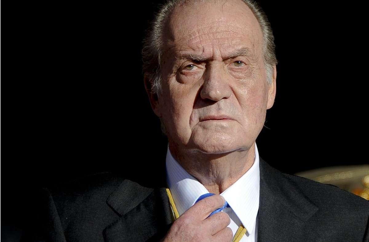 Freiwillig Steuern nachgezahlt: Der spanische Ex-König Juan Carlos verschafft sich Luft Foto: AFP/Pedro Armestre