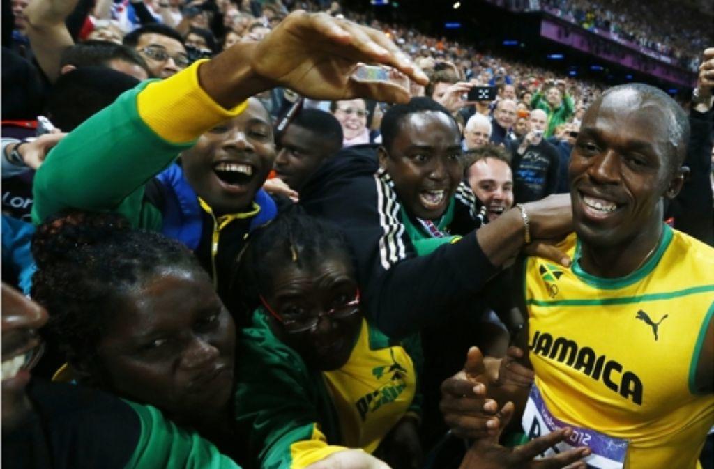Usain Bolt ist Olympiasieger – erneut. Foto: EPA