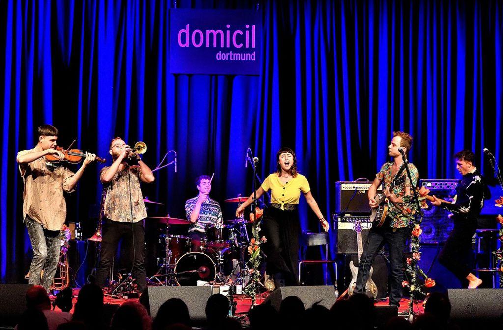 RasgaRasga überzeugen beim ihrem Auftritt im Finale in Dortmund Publikum und Jury. Foto: Kurt Rade