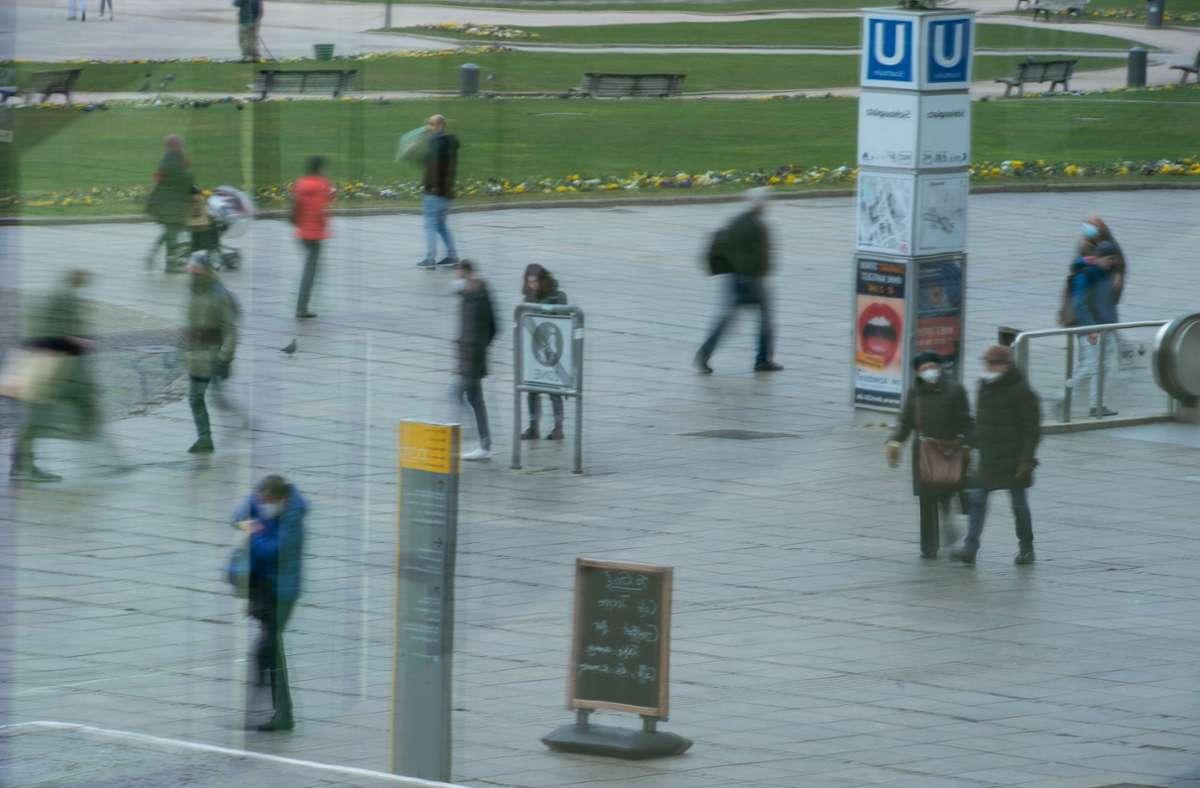 In Stuttgart kennt die Sieben-Tage-Inzidenz zurzeit nur eine Richtung: stark nach oben. Foto: Lichtgut/Leif Piechowski