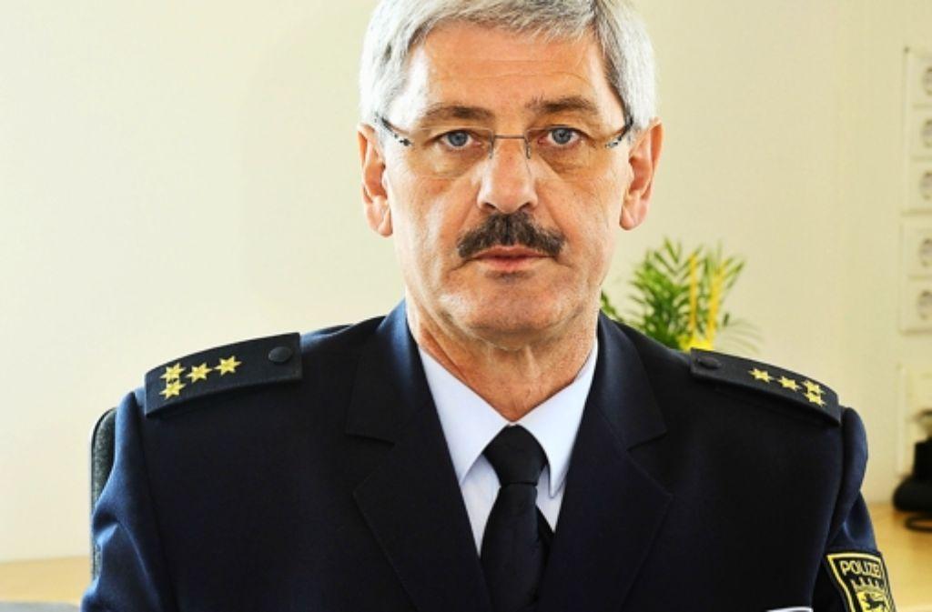 Auf den neuen Polizeichef Franz Lutz wartet viel Arbeit. Foto: Thomas Schlegel