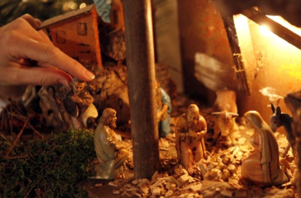 """""""Stille Nacht, heilige Nacht"""" – das weihnachtliche Singen hat in deutschen Familien Tradition. Foto: dapd"""
