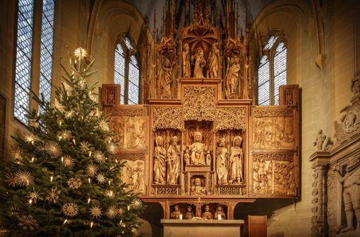 Weihnachtspräsent für einen besonderen Jubilar