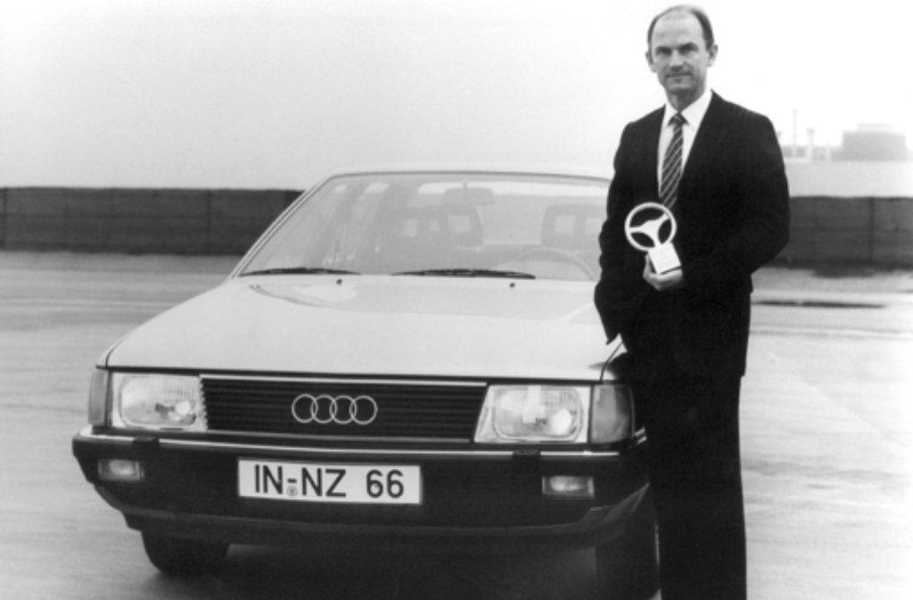Ferdinand Piëch ist am Samstag von seinem VW-Kontrolleursposten zurückgetreten. Eine steile Karriere liegt hinter dem 78-Jährigen, hier zu sehen im Jahr 1982 als damaliges Audi-Vorstandsmitglied (Technische Entwicklung). Foto: AUDI_NSU_Auto_Union_AG/dpa