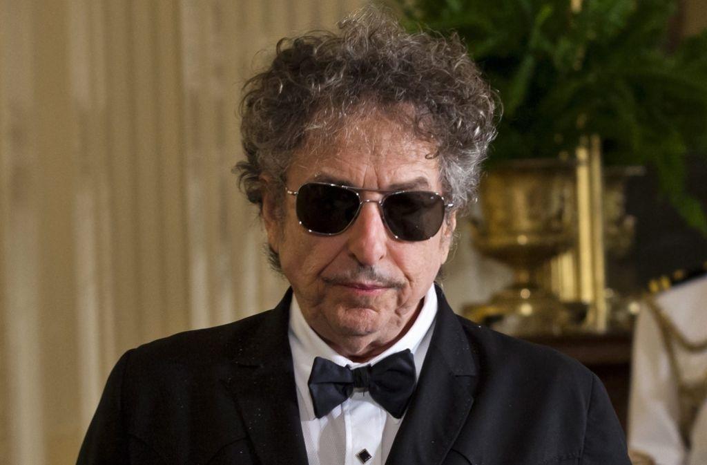 Das Nobelpreiskomittee kann Bob Dylan nicht kontaktieren. Foto: dpa