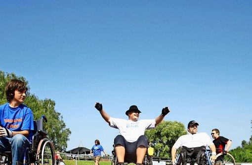 24-Stunden-Rennen im Rollstuhl