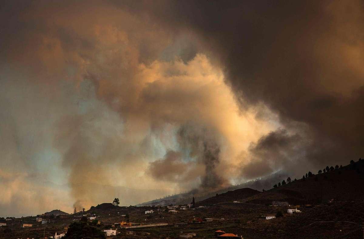 Der Ausbruch zerstörte zahlreiche Häuser. Foto: AFP/DESIREE MARTIN
