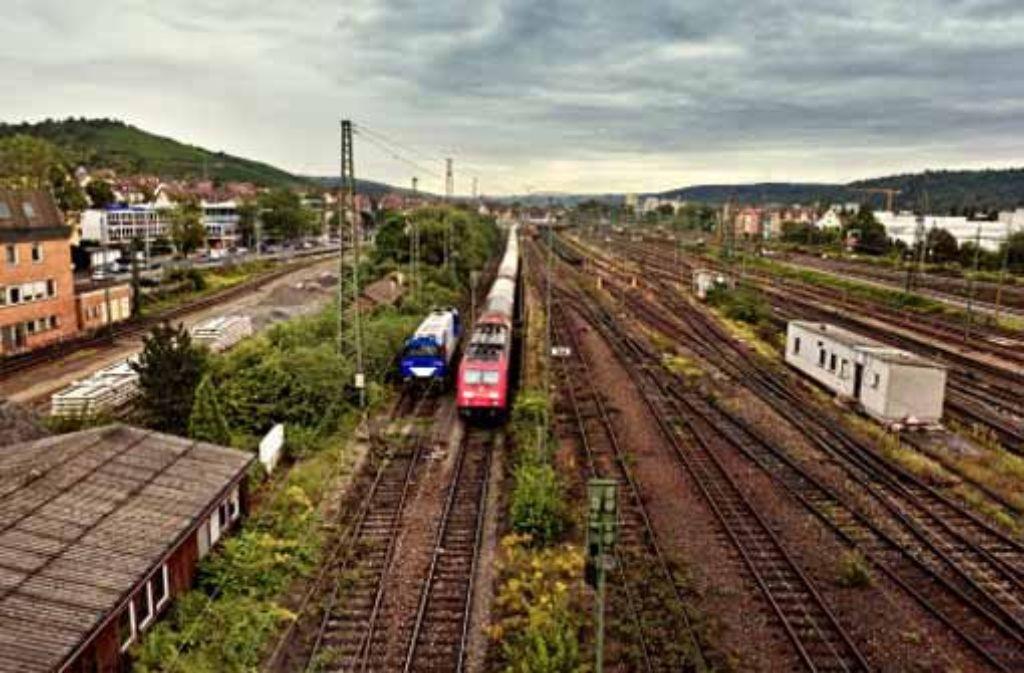 Der alte Rangierbahnhof soll wiederbelebt werden. Foto: Honzera