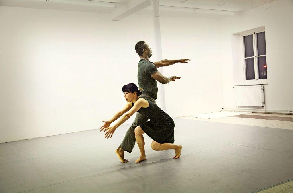 Sawako Nunotani und  Yahi Nestor Gahe bringen tänzerisch die ganze Palette menschlicher Gefühlsregungen  zum Ausdruck. Foto: Ines Rudel