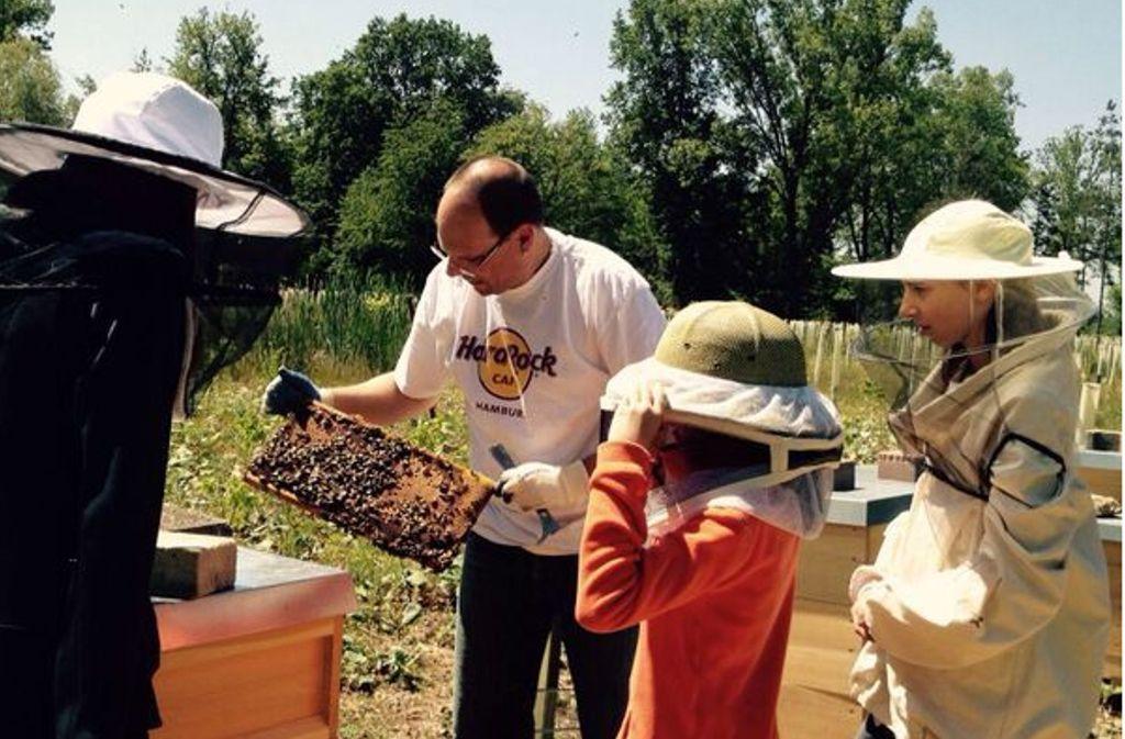 Das erste Honigernten ist ein besonderes Abenteuer. Foto: privat
