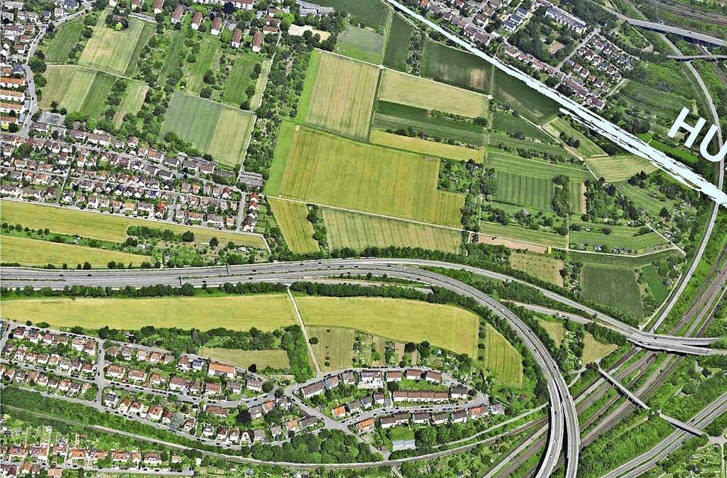 Der Hummelgraben liegt zwischen Zuffenhausen und Stammheim. Bei einer Bürgerbeteiligung wurde das LEK entwickelt. Foto: Stadt Stuttgart