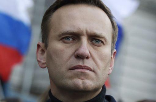 Alexej Nawalny aus Koma erwacht und ansprechbar