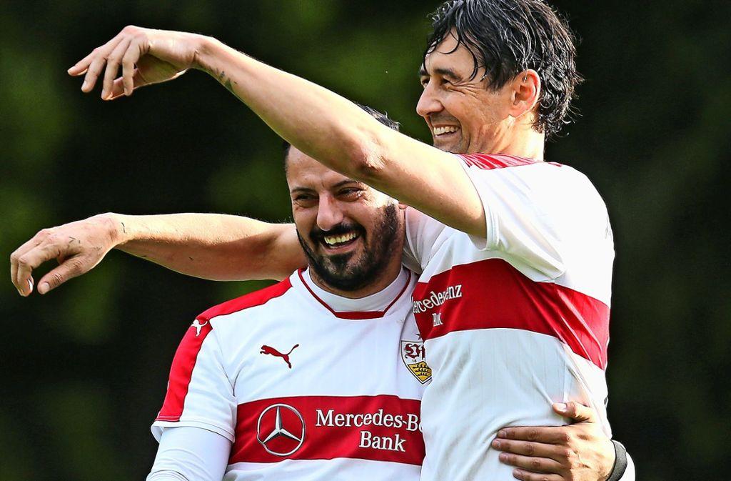 Der Wunschkandidat bei Calcio: Angelo Vaccaro (links). Foto: Archiv  Baumann