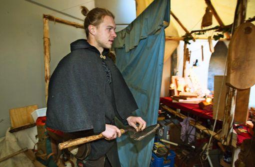 Ein  Zimmermann vom alten Schlag