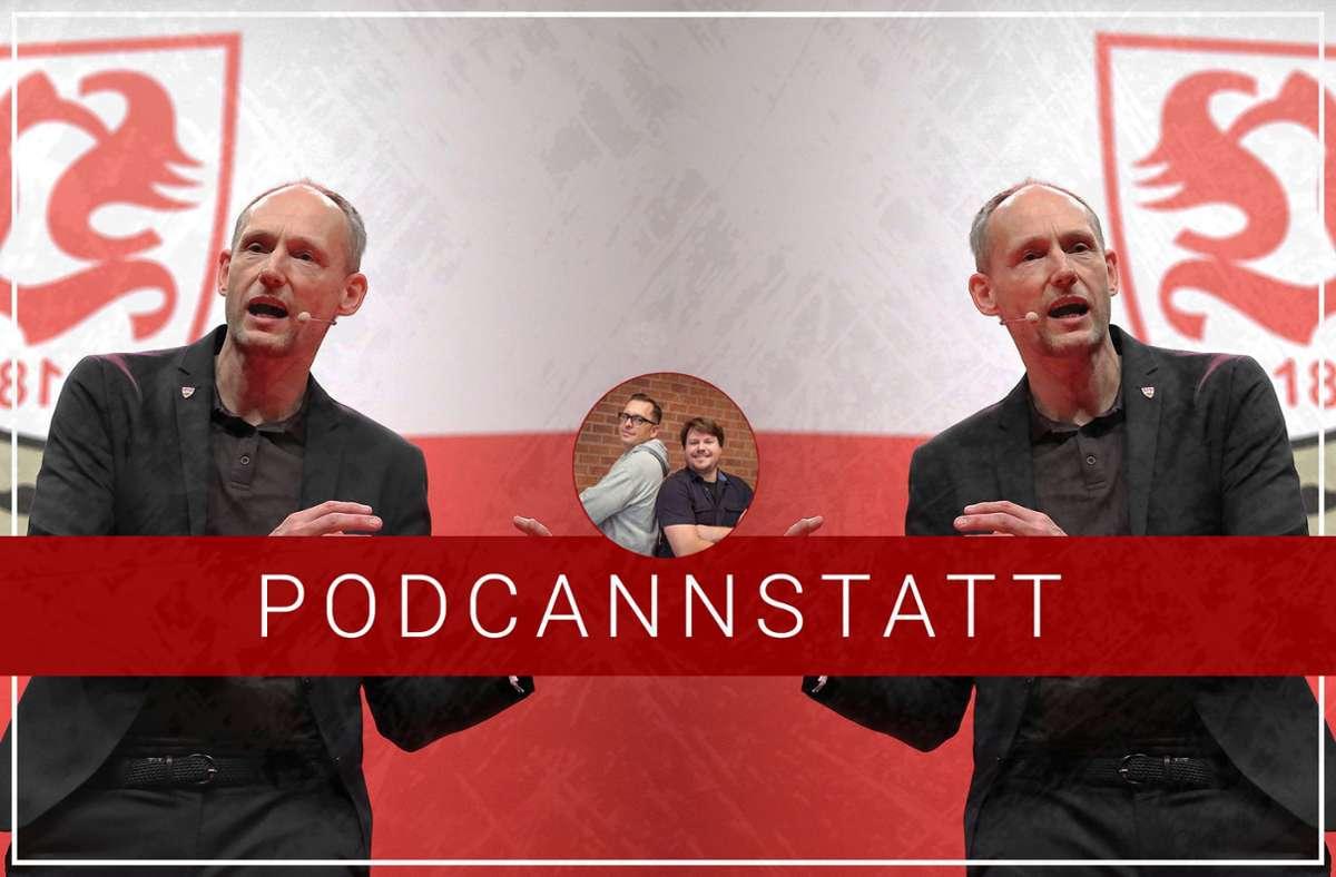 Christian Riethmüller ist zu Gast im neuen Podcast zum VfB Stuttgart. Foto: StZN/Baumann