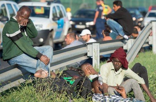 Ungarn will Flüchtlinge mit Bussen zur Grenze bringen