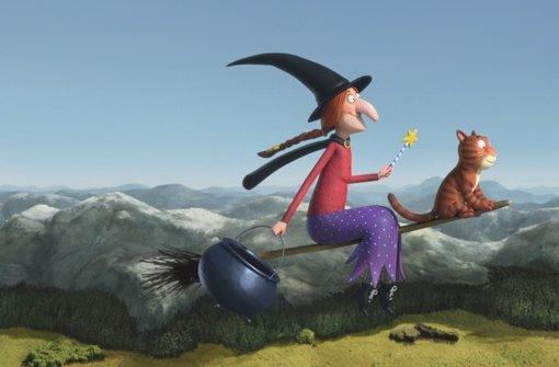 Die Hexe aus dem Film Room on the Broom von ... Foto: Magic Light Pictures/dpa