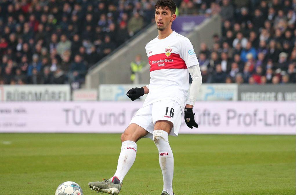 Auf Atakan Karazor wartet eine neue Rolle gegen Heidenheim. Foto: Pressefoto Baumann/Julia Rahn