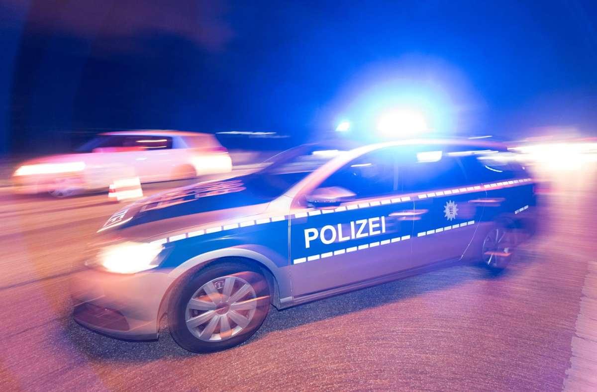 Die Böblinger Polizei war am gestrigen Mittwoch stark gefordert Foto: dpa/Patrick Seeger