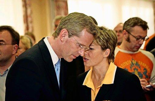 Treten nicht mehr an: Der CDU-Bundestagsabgeordnete Clemens Binninger und seine Ehefrau Ulrike, Bürgermeisterin von Nufringen. Foto: factum/Weise