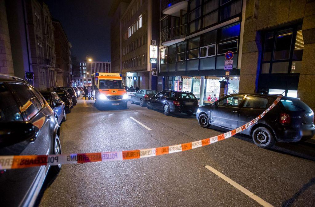 Im Stuttgarter Westen wird ein Mann niedergeschossen. Die Polizei ermittelt. Foto: 7aktuell.de/Simon Adomat