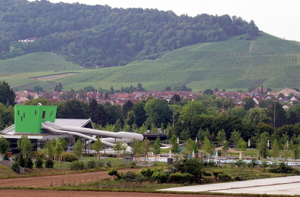 """Im Freizeitbad """"F3"""" in Fellbach starb vor fast zwei Wochen eine Frau aus Stuttgart. Foto: dpa"""