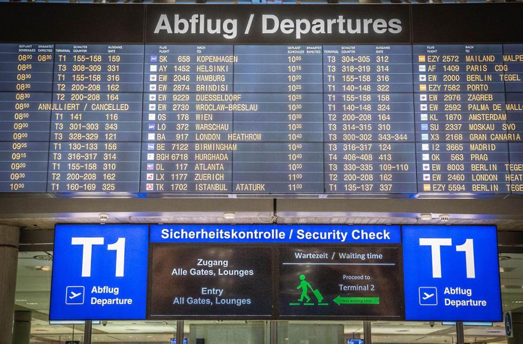 Fliegen ab Stuttgart wird immer beliebter. Foto: Lichtgut/Julian Rettig