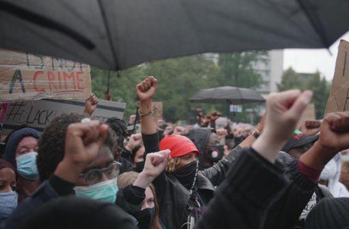 Im Video: So verlief die  Anti-Rassismus Demonstration