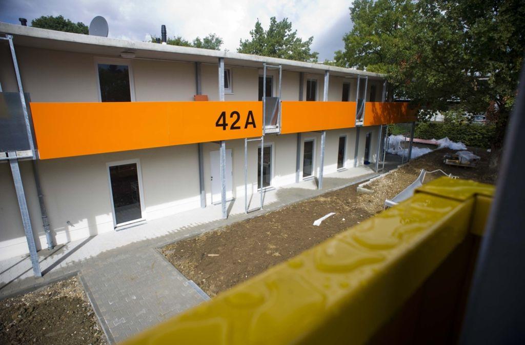 Wohnheim, im Bild die Unterkunft Im Wolfer in Plieningen, sollen in Stuttgart weniger dicht belegt werden. Foto: Max Kovalenko