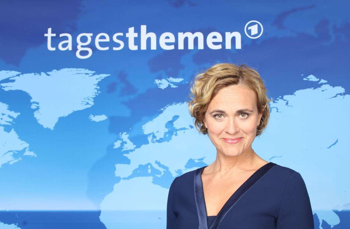 Tagesthemen-Moderatorin Caren Miosga hat sich für einen Tweet zur Kanzlerkandidatin Baerbock entschuldigt. (Archivbild) Foto: imago images/Eventpress/ via www.imago-images.de