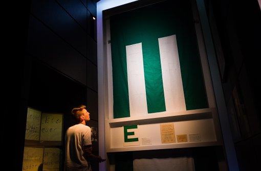 Die Ausstellung im Haus der Geschichte beschäftigt sich mit dem Thema Europa. Foto: Lichtgut/Max Kovalenko