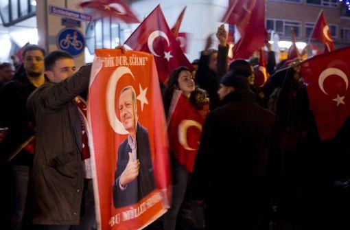 Hysterischer Erdogan