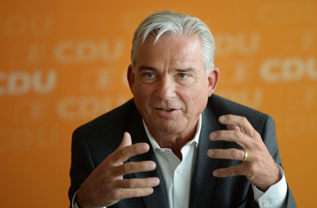 Landesinnenminister Thomas Strobl verurteilt die Gewalt gegen die Polizei in Schorndorf. Foto: dpa