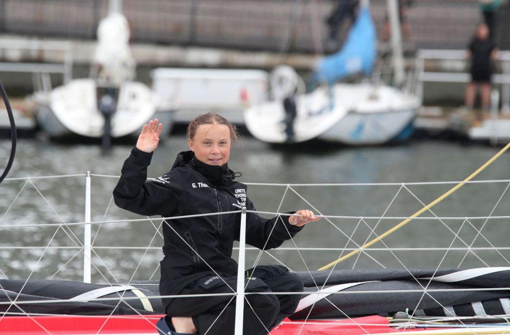 Greta Thunberg hat in Kampf für das Klima ihre Passion gefunden. Foto: dpa/Mary Altaffer