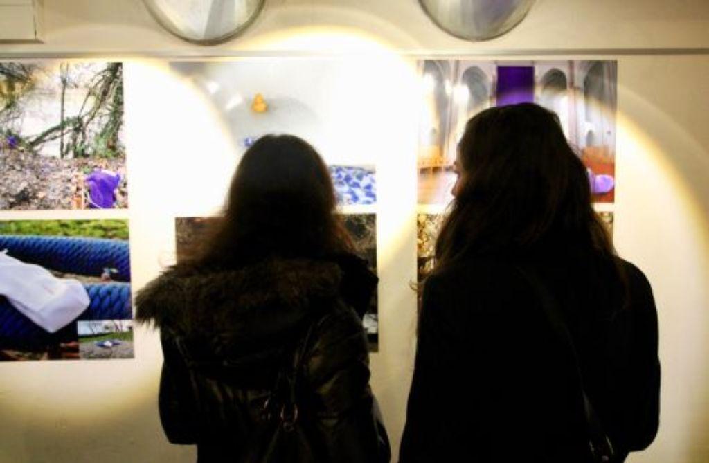Früher Beats, heute Bilder: Das Zollamt hat wieder geöffnet. Foto: Corinna Gross