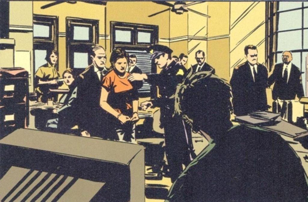 """Die Comicserie """"Gotham Central"""" zeigt ganz normale Polizeiarbeit  – aber in einer Stadt durchgeknallter Vigilanten und Superverbrecher. Foto: Panini"""