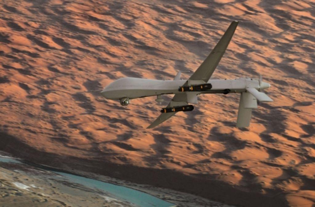 Bisher beobachten Drohnen nur Foto: U.S. Air Force
