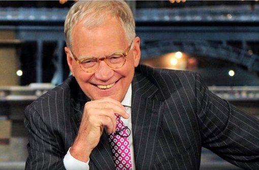 David Letterman gibt Talkshow auf