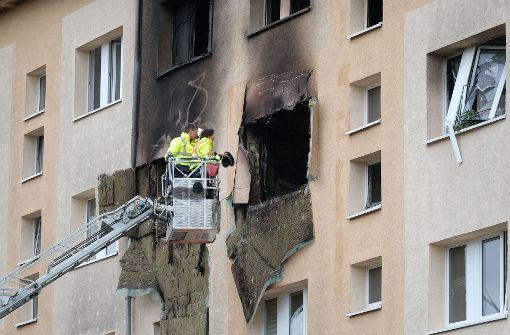 Verletzte nach Explosion in Plattenbau