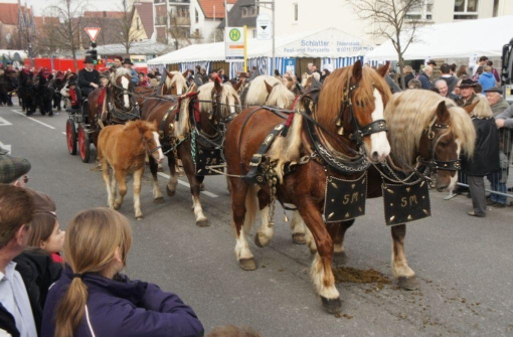 Die Stadt zahlt künftig auch fürs Schaufahren im Ortskern. Foto: Archiv Vollmer