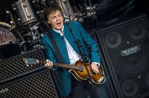 Ex-Beatle kommt für ein Konzert nach Deutschland