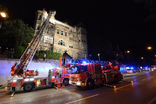 100.000 Euro Schaden nach Brand an der Neuen Weinsteige