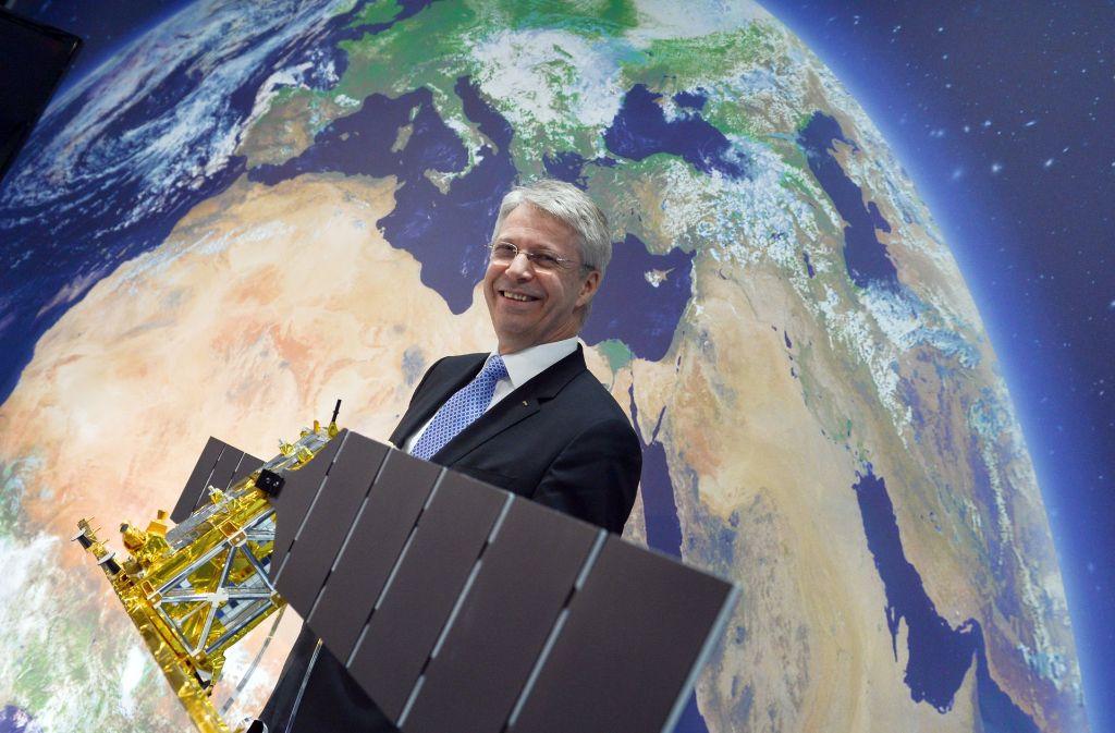 Früher Astronaut, heute Raumfahrt-Manager: Thomas Reiter, dass das Mond- und Mars-Projekt durch die Ankündigung des US-Präsidenten neuen Schub erhält. Foto: dpa