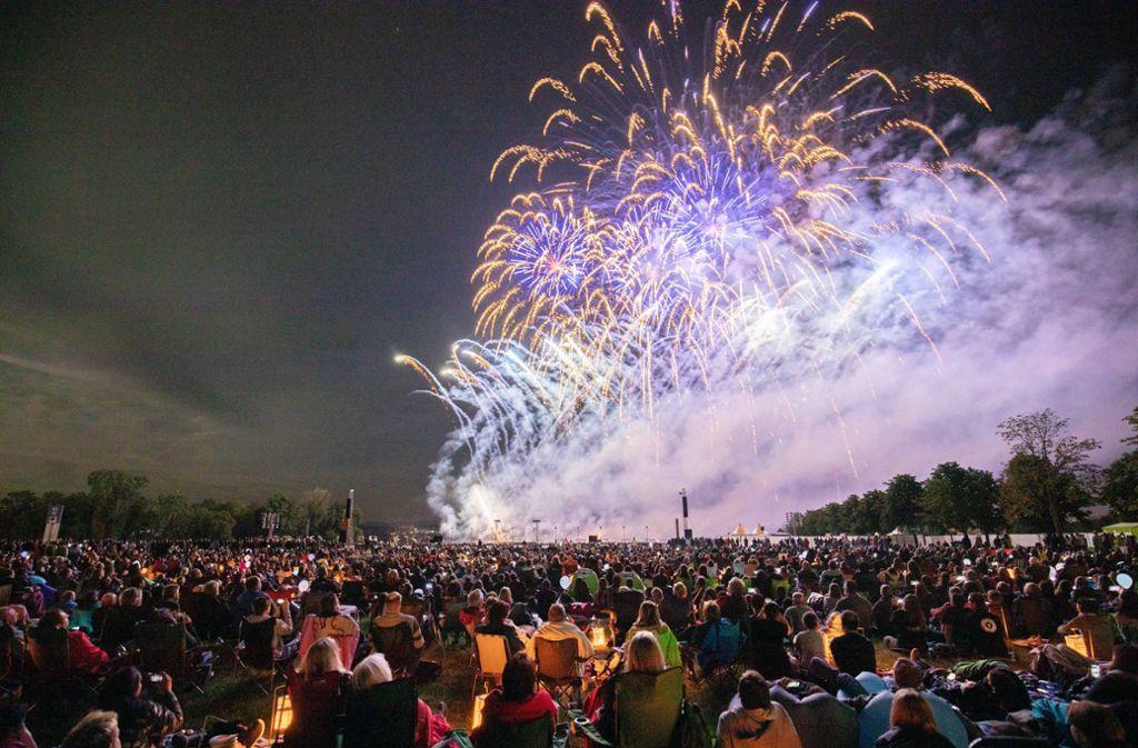Eröffnet hatte das Festival im Scharnhauser Park der indische Beitrag. Foto: Michael Steinert