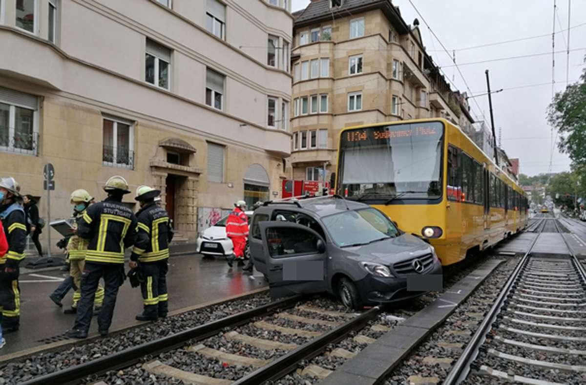 Der Unfall ereignete sich gegen 10.15 Uhr. Foto: Andreas Rosar