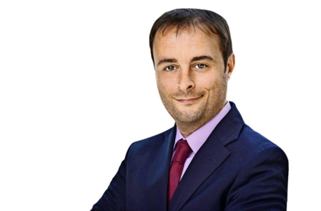 FDP-Kandidat Alexander Kulitz Foto: Lukas Hofstätter